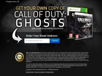 Call of Duty: Ghosts for XBox or PS