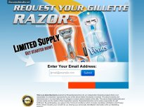 His or Her Gillette Razor