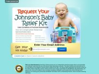 Johnson\'s Baby Relief Kit